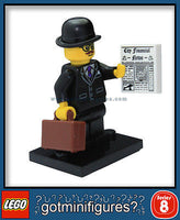 Series 8 LEGO BUSINESSMAN minifigure BRAND NEW minifig 8833