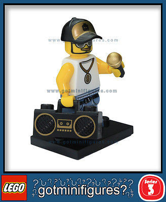 Series 3 LEGO RAPPER minifigure  8803