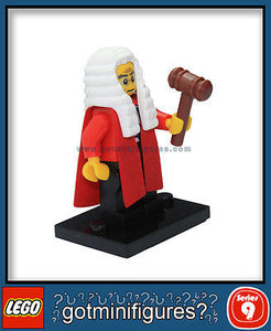 Series 9 LEGO JUDGE minifigure BRAND NEW minifig