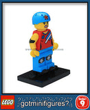 Series 9 LEGO ROLLER DERBY GIRL minifigure 71000