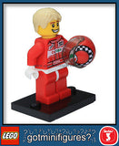 Series 3 LEGO RACE CAR DRIVER minifigure  8803