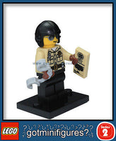 Series 2 LEGO TRAFFIC COP minifigure 8684