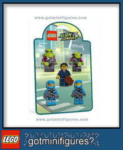 LEGO ALIEN CONQUEST BATTLE PACK 5 minifigures