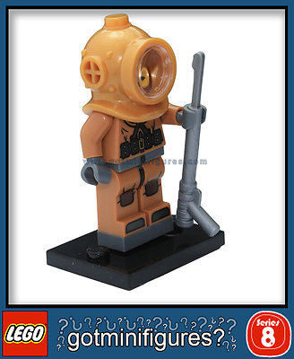 Series 8 LEGO DIVER minifigure BRAND NEW minifig 8833
