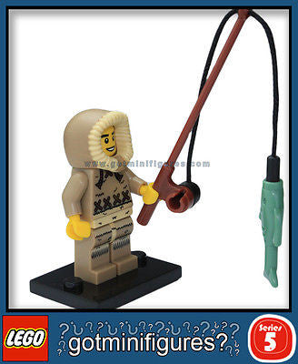 Series 5 LEGO ICE FISHERMAN minifigure 8805