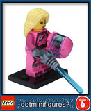 Series 6 LEGO INTERGALACTIC GIRL minifigure 8827
