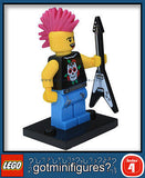Series 4 LEGO PUNK ROCKER minifigure  8804