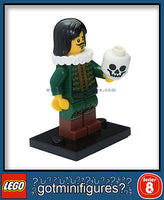 Series 8 LEGO THE THESPIAN minifigure BRAND NEW Actor minifig 8833