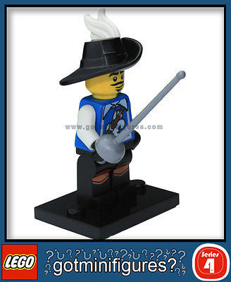 Series 4 LEGO MUSKETEER minifigure  8804