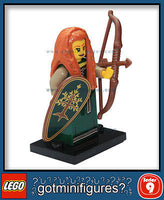 Series 9 LEGO FOREST MAIDEN minifigure 71000