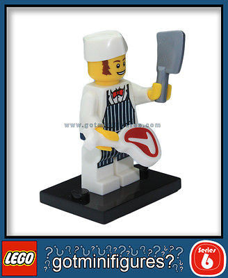 Series 6 LEGO BUTCHER minifigure 8827