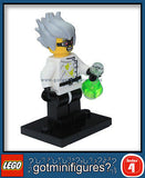 Series 4 LEGO CRAZY SCIENTIST minifigure 8804