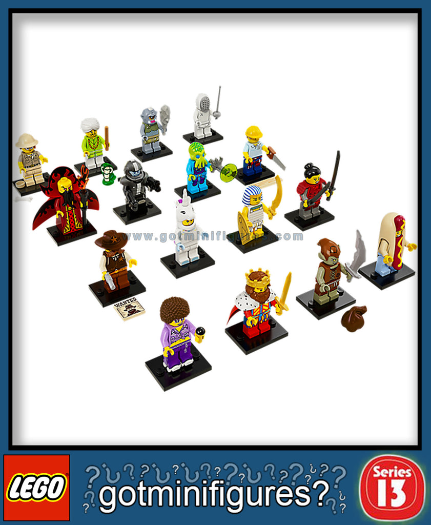 LEGO SERIES 13 Set of 16 minifigures #71008