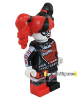 LEGO Super Heroes HARLEY QUINN pigtails, smylex minifigure #70906