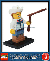 Series 8 LEGO COWGIRL minifigure 8833
