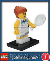 Series 3 LEGO TENNIS PLAYER minifigure  8803