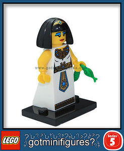 Series 5 LEGO EGYPTIAN QUEEN minifigure 8805