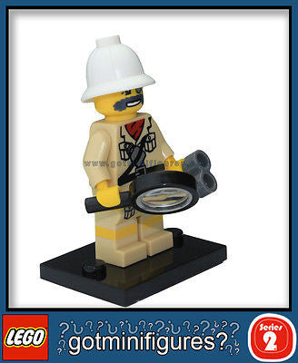 Series 2 LEGO EXPLORER minifigure 8684