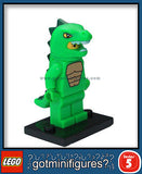 Series 5 LEGO LIZARD MAN minifigure (Dino Suit) 8805