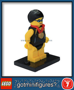 Series 7 LEGO SWIMMING CHAMPION minifigure 8831