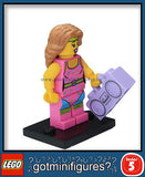 Series 5 LEGO FITNESS INSTRUCTOR minifigure 8805
