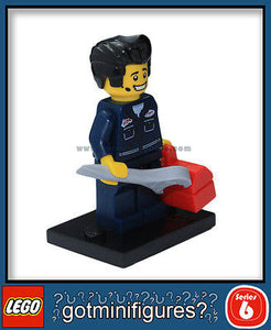 Series 6 LEGO MECHANIC minifigure 8827