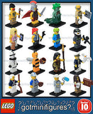 Series 10 LEGO COMPLETE SET of 16 minifigures  71001