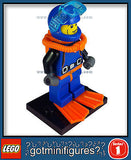 Series 1 LEGO DEEP SEA DIVER minifigure  8683