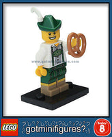 Series 8 LEGO LEDERHOSEN GUY minifigure 8833