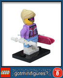 Series 8 LEGO DOWNHILL SKIER minifigure 8833