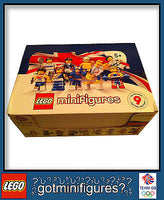 LEGO Olympic TEAM GB series Box of 60 minifigures 8909