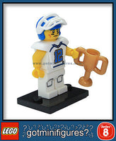 Series 8 LEGO FOOTBALL PLAYER minifigure 8833