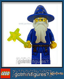 LEGO Castle Kingdoms BLUE WIZARD minifigure