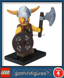 Series 4 LEGO VIKING minifigure