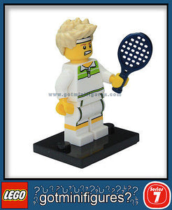 Series 7 LEGO TENNIS ACE minifigure  8831