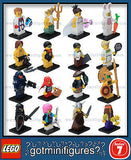 Series 7 LEGO COMPLETE SET of 16 minifigures 8831