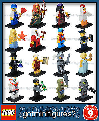Series 9 LEGO COMPLETE SET of 16 minifigures 71000