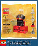 LEGO Bricktober FIRE CHIEF minifigure Week 3 magnet minifig BRAND NEW