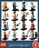 Series 4 LEGO COMPLETE SET of 16 minifigures  8804