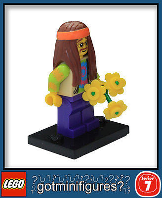 Series 7 LEGO HIPPIE minifigure BRAND NEW minifig 8831