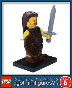 Series 6 LEGO HIGHLAND BATTLER minifigure  8827