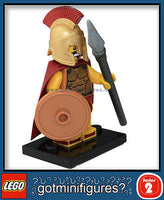 Series 2 LEGO SPARTAN WARRIOR minifigure 8684