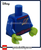 LEGO - TORSO (Blue w lime hands, Alien Toy Story) for minifigure