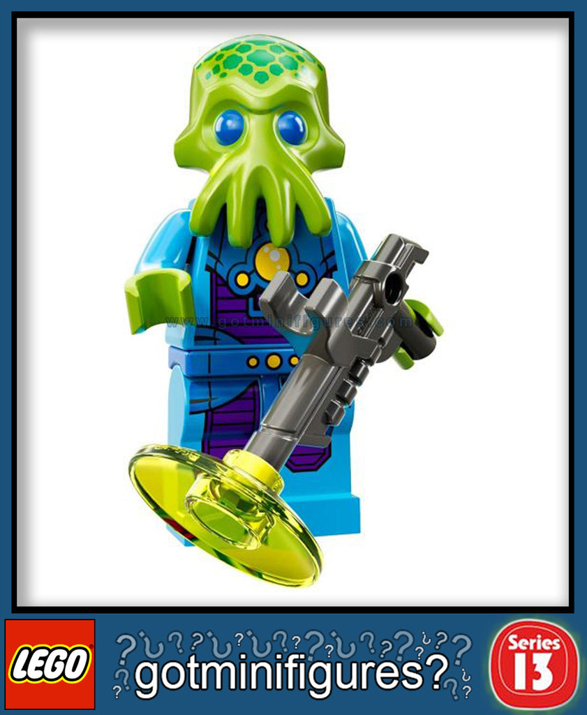 LEGO SERIES 13 ALIEN TROOPER minifigure #71008