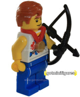 LEGO Olympic AGILE ARCHER Team GB  minifigure  8909