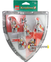 LEGO Kingdoms RED LION KNIGHTS Battle Pack 5 minifigures 852921