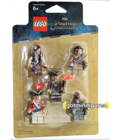 LEGO Pirates of the Caribbean BATTLE PACK 5 minifigures 853219