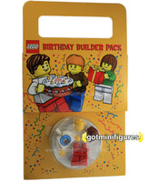 LEGO BIRTHDAY Builder Pack minifigure