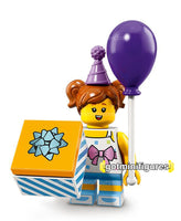 Series 18 LEGO BIRTHDAY PARTY GIRL minifigure 71021