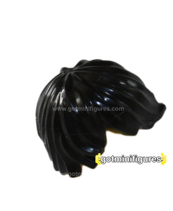 LEGO - HAIR Black tousled with side part for minifigure